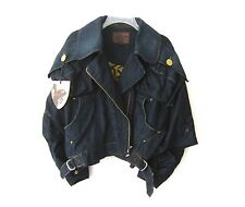 NWT VIVIENNE WESTWOOD LEE DENIM OVERSIZED CLINT EAST WOOD JACKET Sz-S $590 RARE!