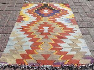 "Teppiche, Turkish Kilims, Small Rug, Modern Rug, Carpet, Area Rug, Kelim 28""X39"""
