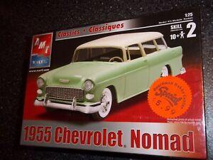 AMT - Ertl - 1955 Chevrolet Nomad Model Kit NEW IN PLASTIC WRAPPER