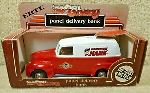ERTL 1/25 Scale Diecast 1950 Chevy Panel Delivery Bank Hardware Hank Truck