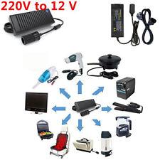 10A Car Cigarette Lighter Power Inverter AC 220V to DC12V Converter Adapter