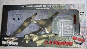 American Muscle BodyShop F-4 Phantom Fighter Jet 2001 Ertl Diecast McDonnell...
