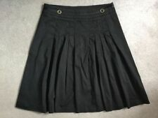 Laura Ashley Cotton No Pattern Regular Skirts for Women