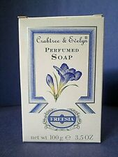 Freesia Crabtree & Evelyn Soap Vintage 100 g 3.5 oz New in Box