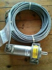Ametek 1986 Stainless Resolver w/ Gear Head & Potted Pigtail 1986A1GR18B60XPSA