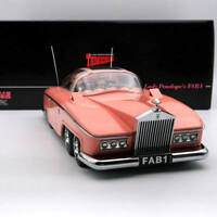 AMIE 1/18 Rolls Royce Lady Penelope's Thunderbirds FAB 1 Resin Models Car Resin