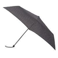 totes Steel Miniflat Black/White Wavy Dots Umbrella (3 Section)