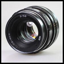 KMZ Helios - 44M 2/58 Sovietica Russa CCCP URSS Lens per Canon ZENIT PENTAX-m42