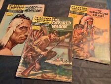 CLASSIC Illustrated lot #4, #72, #131 Westerns