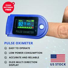 FDA CE OLED Pulse Oximeter Blood Oxygen Meter SpO2 Heart Rate