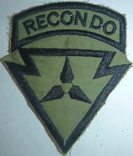 US RANGER - Recondo Patch - 3rd Marine Division - KHE SANH - Vietnam War - L