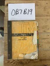 John Deere Jd 510 Backhoe Loader Technical Service Repair Manual Book Tm 1039