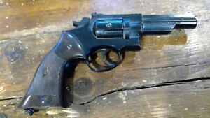 "Vintage Crosman 22 Caliber Combat ""38"" Air Gun Revolver Pistol"