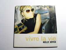 Kelly Joyce ‎– Vivre La Vie CD Single Pop 2000