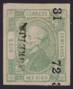 cw11 Mexico #93 6ctv Morelia 31-72 Better cons Mint No Gum Very Fine est $15-25
