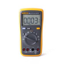 FLUKE 15B+ Digital multimeter Tester DMM TL75 Test Leads Auto Range Resistance