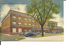 McCLEARY SANITARIUM, EXCELSIOR SPRINGS, MO.POSTCARD 1946