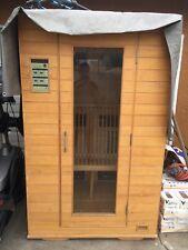 Brighton Infrared Sauna brown - white in good condition