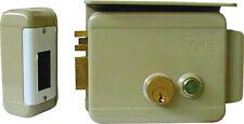 Serratura Elettrica Cancello Porta Yale Cilindro esterno 70 mm Sx Yale 68800702