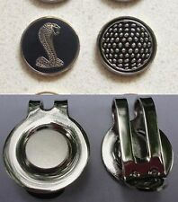 1 only COBRA SNAKE GOLF BALL MARKER approx 23mm & a golf HAT CLIP