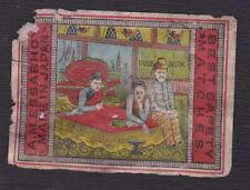 Ancienne étiquette paquet Allumettes Japon BN121535 Femme Homme