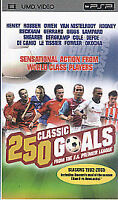 250 Classic Goals From The F.A. Premier League [UMD Mini for PSP], Good DVD, ,