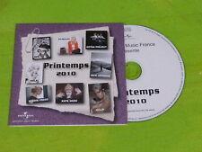 SOPHIE HUNGER - CHIMENE BADI - ELODIE FREGE - HOLE !!!!!! CD PROMO!!!