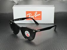 RAY BAN RB2185 901 58 Wayfarer II Black Green Polarized 52 mm Unisex Sunglasses