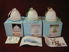 Lladro Christmas Bell Lot 1987 to 1996 (Missing 1994) New and Used