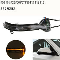 Right For BMW F10 F07 F06 F12 F13 F01 LCI Rear View Mirror Turn Signal lights