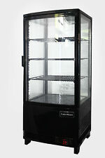 DRINKS COLD FOOD CAKE DISPLAY FRIDGE CABINET COUNTERTOP 78LT BRAND NEW EQUIPMENT