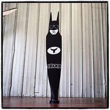 BAT BLADE BATMAN AVIATOR PARODY SCULPTURE Pilatus AIRPLANE PROPELLER BLADE ART