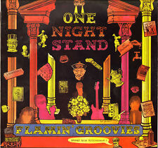 """THE FLAMIN' GROOVIES """"ONE NIGHT STAND"""" LP 1987 ACCORD 130087"""