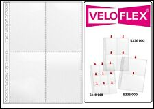 1000 Veloflex A4 Collection Sleeves Prospect Covers Card 140 My 4x A6 10x15 CM