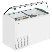 More details for framec slant510 ice scoop ice cream display (boxed new)