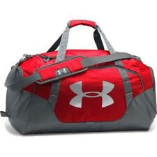 Under Armour Undeniable Duffle, Red/Grey, Large Gym Bag