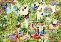 1000 Pieces Jigsaw Puzzle Butterflies & Kittens - Brand New & Sealed