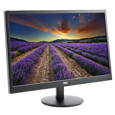 """NEW AOC E2270SWN 22"""" HD WIDESCREEN SLIMLINE LED PC COMPUTER DESKTOP MONITOR VGA"""