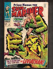Sub-Mariner #3 - The Leviathan! - 1968 (Grade 7.5) Wh