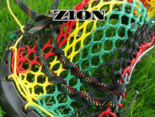 Lacrosse Money Mesh Zion Rasta (black, red, yellow, green) show swag stand out