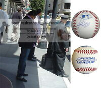 Alfredo Amezaga Angels Autograph Signed Baseball Rockies Pirates Marlins Proof