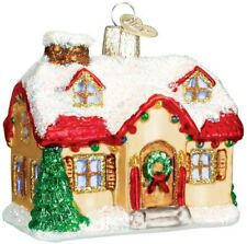 Old World Christmas 20032 Glass Blown Holiday Home Ornament