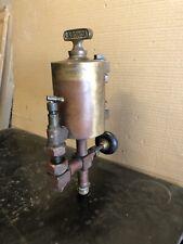 Antique Brass Essex Liberty Lagonda Lubricator Oiler Hit Miss Steam Engine
