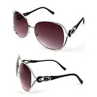 4688f005af Pop Fashionwear Fashion Diva Metal Frame Butterfly Oversized Sunglasses  P4112