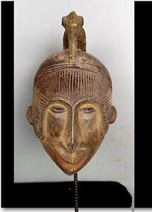 Old Tribal Igbo Spirit   Mask    --- Nigeria