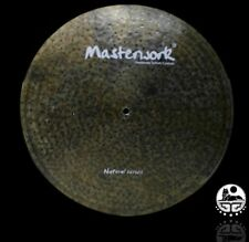 Masterwork Cymbals 19-inch Natural Flat Ride Sizzle / Rivets