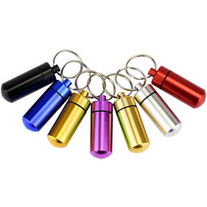 1x Pet Dog Cat ID Tag Tube Container Address Name Label For Dogs Cats Puppy