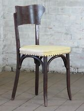 alter Stuhl Küchenstuhl Kaffeehausstuhl Holzstuhl Vintage Chair 50er 50s 60s