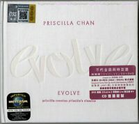 PRISCILLA CHAN 陳慧嫻 Evolve 2015 MALAYSIA / GERMANY DELUXE FOLIO DIGIPAK CD + DVD