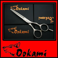 "Ookami 5.5""  Pro Hairdressing Scissors Hair Shears Salon RZ-55"